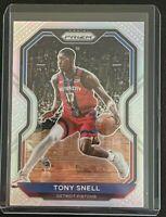 Lot 8 Tony Snell 2020 Panini Prizm #129 Silver HOLO + 7 Base Cards #129 Pistons