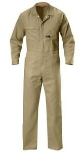 HARD YAKKA WORKWEAR OVERALLS ARMY UNIFORM HUNTING COVERALL - SIZE 92R