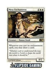 4x Mesa Enchantress  (M12) SP or Better Mtg ~Flipside2~