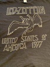 Vintage Led Zeppelin T Shirt. Usa 1977 Xl Extra Large Delta Tag