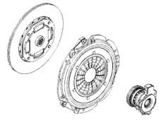 VAUXHALL CLUTCH PRESSURE PLATE - GENUINE NEW - 93185900