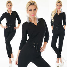 Tracksuit V Neck Regular Plain Hoodies & Sweats for Women