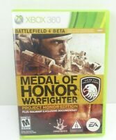 Medal of Honor Warfighter Project Honor Edition Microsoft Xbox 360 Game