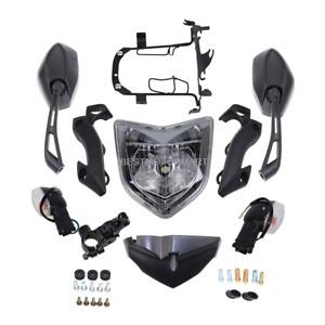 Head Light Assembly Headlight Assembly Set Turn Light For Yamaha FZ1N 2006-2012