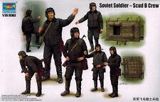 Trumpeter 00434 Soviet Soldier scud b Crew-soldados rusos - 1:35