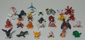 Digimon Mini Figure Lot Of 27