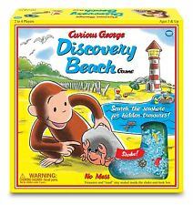 Curious George Discovery Beach Game - Vintage Edition [Board Game, Wonder Forge]