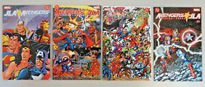 JLA Avengers #1-4 (2003) VF/NM Complete Series Batman Captain America DC Marvel