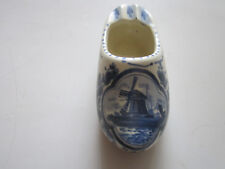 HANDPAINTED CERAMIC DUTCH TYPE SHOE