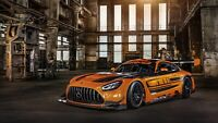 "2020 Mercedes-AMG GT3 Auto Car Art Silk Wall Poster Print 24x36"""