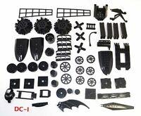 Lego Black Specialty Unique Rare Parts and Pieces Lot Ninjago System Star Wars
