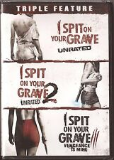 I Spit On Your Grave 1, 2 & 3 - DVD Movie Triple Feature BRAND NEW