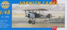 Sopwith Camel: Ace Raymond Collishaw (1/48 model kit, Smer 0809)