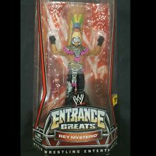 WWE REY MYSTERIO & TRIPLE 'HHH' ENTRANCE GREATS SERIES 1  - NEW IN BOXES 2010