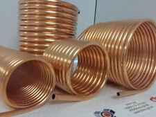 Spirale aus Kupferrohr 15x1mm aus 10m mit Außen-Ø ca. 21cm (Kupferrohrspirale)
