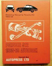 1965 1966 1967 1968 1969 PORSCHE 912 WORKSHOP AUTOBOOK AUTOPRESS REPAIR MANUAL