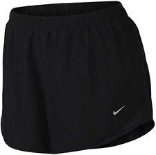 """NEW NIKE [3X] Women's 3.0"""" DRY TEMPO DRI-FIT Shorts-Black 847761-018"""
