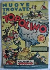 ~Vintage 1937 TOPOLINO Walt Disney Comic Book*Italian*Mickey Mouse*Milano Italy~