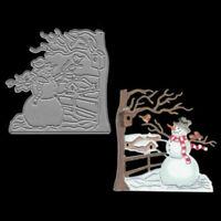 Snowman Christmas Metal Cutting Dies scrapbooking Embossing Die Cuts Card Craft