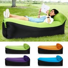 Fast Inflatable Lazy Sofa Lounger Air Sofa Chair Outdoor Beach Lounger Sofa Bed