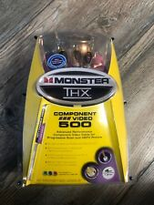 Monster THX Component Video 500 New Sealed