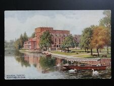 Stratford on Avon MEMORIAL THEATRE Old Postcard Pub By J Salmon 4074
