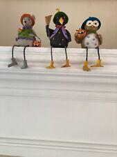 Lenox Halloween Shelf Sitter Set: Owl, Crow and Mouse Figurines