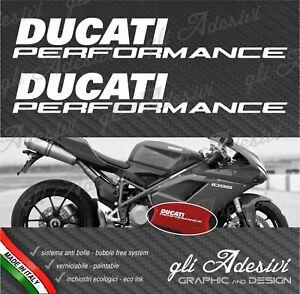 2 Adhesives Hip Fairing Motorcycle DUCATI Performance 1098 New