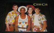 Original 1983 Boy George Culture Club Sharpgrade Ltd #8044 Make Offer!