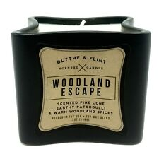 Blythe and Flint Woodland Escape Scented Candle Pine Cone Patchouli and Spices