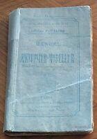 MANUEL DU MENUISIER-MODELEUR Poutiers illustré de 300 fig & pl  1891  Artisanat