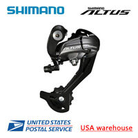 Shimano Altus RD-M370 9-Speed SGS Rear Derailleur Black