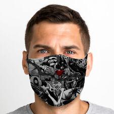 Skull Jester One Size Reusable Washable Breathable Face Mask UK