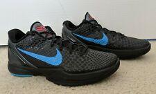Nike OG Zoom Kobe 6 VI Dark Knight Size 8 100% Authentic Hardly Worn