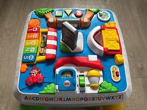 Mattel Fisher Price Lernspass Spieltisch