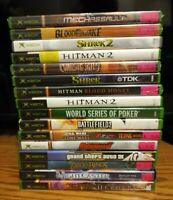 ORIGINAL XBOX GAMES LOT YOU PICK YOUR OWN BUNDLE AUTHENTIC & TESTED MOST ARE CIB