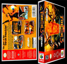Turok 3 - N64 Reproduction Art Case/Box No Game.