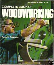 Woodworking Complete Book of 1976 Popular Science Capotosto Reference