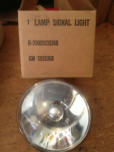 G501 GMC WWII DUKW Signal Lamp Bulb - NOS