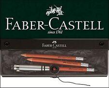 Faber-Castell perfecto lápiz Design marrón estuche de regalo Perfect Pencil set