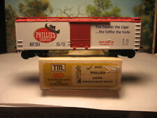 TRAIN MINIATURES HO SCALE #2035 40' WOOD REEFER PHILLIES CIGARS #253