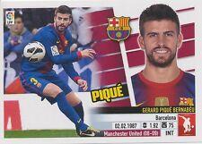 N°06 GERARD PIQUE # ESPANA FC.BARCELONA STICKER PANINI ESTE LIGA 2014