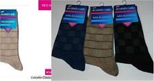 3 Pares de calcetines socks Abanderado NEO ALGODÓN T.U azul jeans-beig-gris