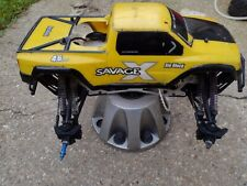 Hpi Savage Ntro 4Wd Monster Truck for Parts and rebuild only