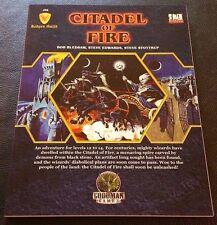 D&D 3.5 2007 JG2 CITADEL OF FIRE Judges Guild D20 GMG4601 Dungeons & Dragons NEW