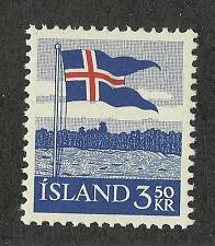Iceland 313 (1958) MNH/OGnh XF/S