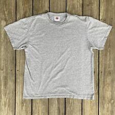 New listing Vintage Nike Team Blank Neck Logo Sport Gym Workout Training Run Jog T Shirt M