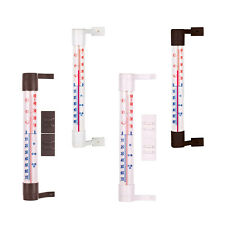 Wall/Window Hung Glass Thermometer Weather Station Indoor Outdoor Garden Home °C