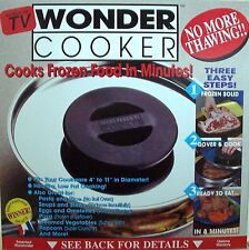 WONDER COOKER MIRACLE LID NO MORE THAWING COOKS FROZEN FOOD in MINUTES NIB