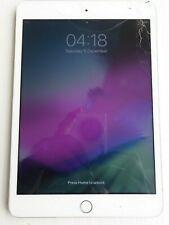 Apple iPad Mini 3 A1599 16GB Wi-Fi, 9.7in - White/Silver Faulty Screen Locked